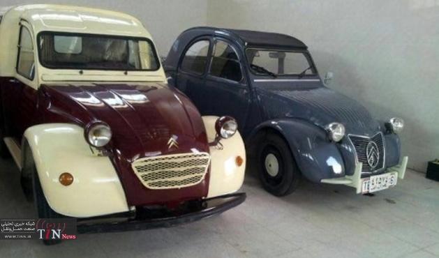 چند خودروی کلکسیونی خاص در یزد / اولین ژیان وارداتی ایران(+ عکس)