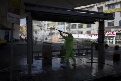 پاکسازی معابر شهری تهران