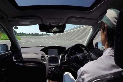 Honda targeting SAE Level 4 automated driving capability by 2025