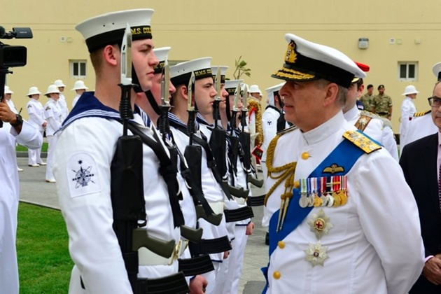 New Royal Navy Base Opens In Bahrain