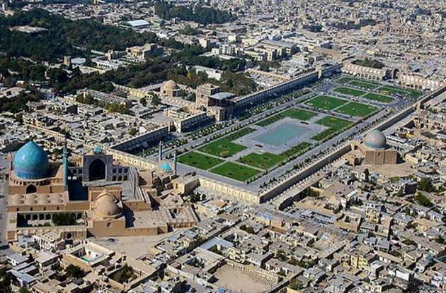 فرونشست زمین، بمب ساعتی اصفهان