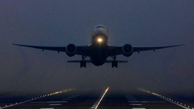کاهش دید افقی پروازهای فرودگاه مشهد را لغو کرد