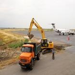 آغاز عملیات اجرایی پروژه توسعه اپرون فرودگاه گرگان