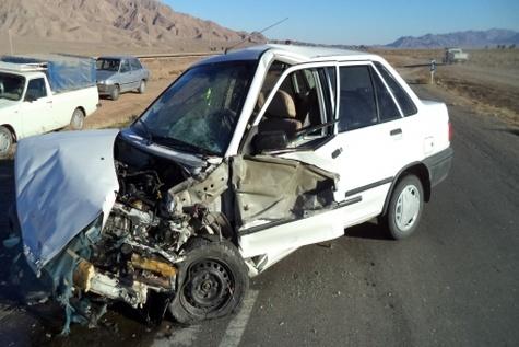 وقوع ۳ سانحه رانندگی یک کشته و ۷ مصدوم برجای گذاشت