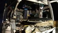 برخورد اتوبوس و تریلر در کاشان ۲۵ مصدوم و یک کشته برجا گذاشت