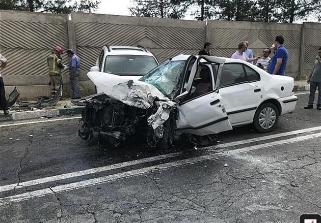 تصادف در محور پارسآباد ـ سربند
