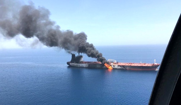 توکیو خواستار روشن شدن حادثه نفتکش ها شد