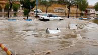 انسداد 15 جاده در 2 استان به دلیل آبگرفتگی