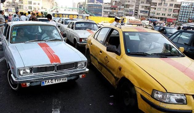 کاهش ترافیک تهران با حمایت از تاکسیداران
