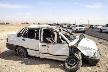 تصادفات جادهای جان ۸۸۸ نفر را در سیستان و بلوچستان گرفت