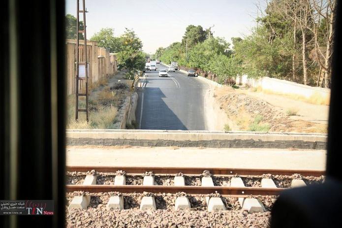 بازدید مدیر عامل راه آهن از محور ریلی تهران کرج
