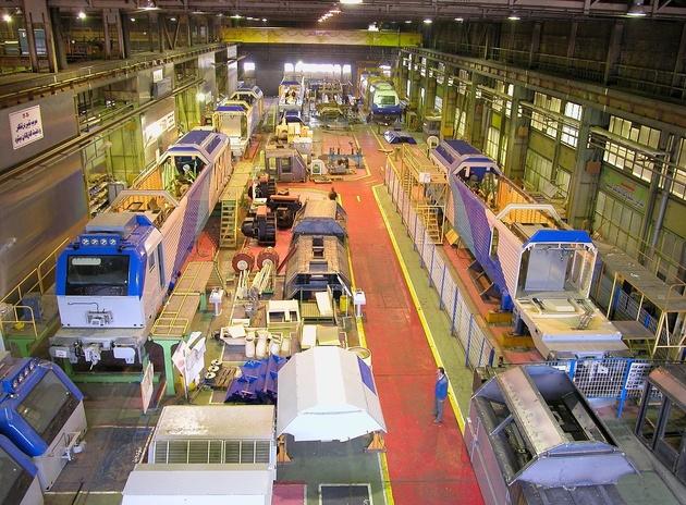 ۴۱۱ دستگاه واگن باری و مسافری در اراک تولید شد