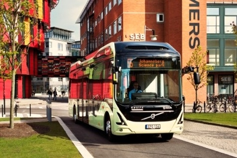 Gothenburg's new electric bus route wins European sustainability prize