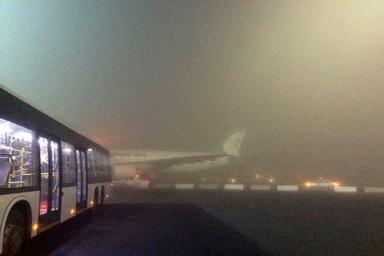مه ۶ پرواز ورودی و خروجی فرودگاه اهواز را با تاخیر مواجه کرد