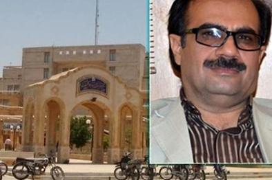 شهروند معترض بوشهری روی شهردار بنزین پاشید