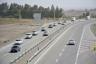 ترافیک روان در محورهای مواصلاتی استان تهران