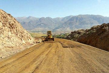 آغاز احداث راه روستایی در شهرستان بهار استان همدان