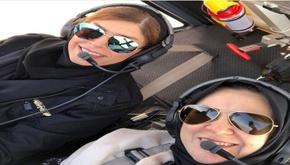 ثبت رکورد جدید در «هوانوردی عمومی» توسط دو خلبان زن
