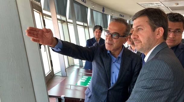بازدید معاون عمرانی وزارت کشور از بندر بوشهر