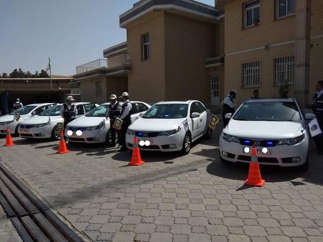 تیمهای نامحسوس پلیسراه همدان افزایش مییابد