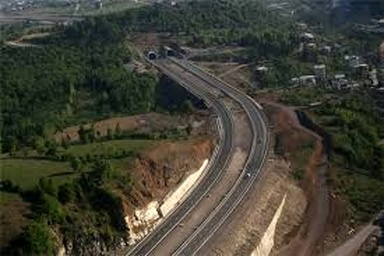 صرفه جویی ۸۶ میلیون لیتری بنزین با افتتاح قطعه اول آزادراه تهران-شمال
