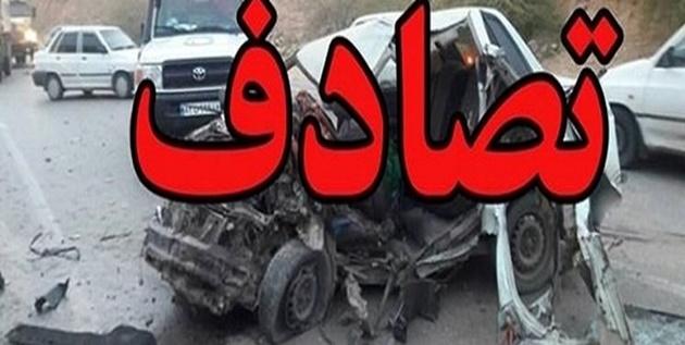 2 کشته و 3 مصدوم در حادثه رانندگی
