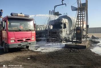 فیلم| آتش سوزی در مرز ماهیرود؛ حادثه ای که به خیر گذشت