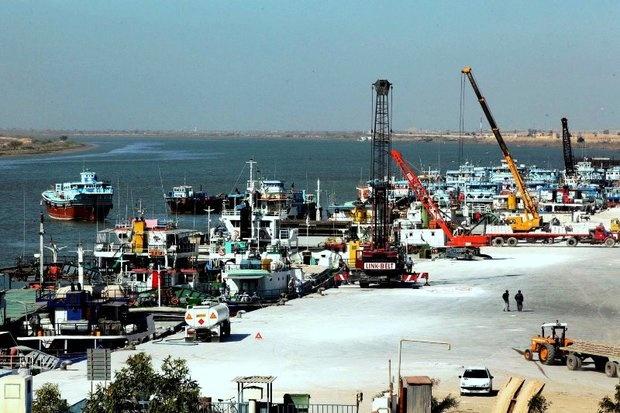 رشد ۵۶درصدی صادرات کالا از بندر خرمشهر