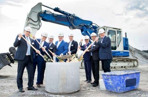 Stadler breaks ground on new rolling stock plant