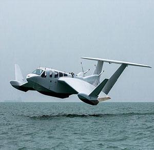 نوع دیگری از سفر دریای با هواپیما- قایق هیبریدی Airfish 8