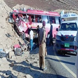 26 killed in Pakistan bus accident