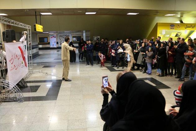 گذرگاههای فرهنگی مترو، عرصه تماشای چهل سالگی پیروزی انقلاب اسلامی