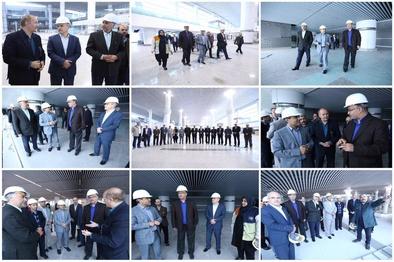 تقدیر هیات اعزامی سازمان بازرسیکل کشور از روند آمادهسازی ترمینال-گالری سلام