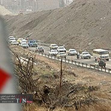 محدودیت های ترافیکی در جاده کرج - چالوس