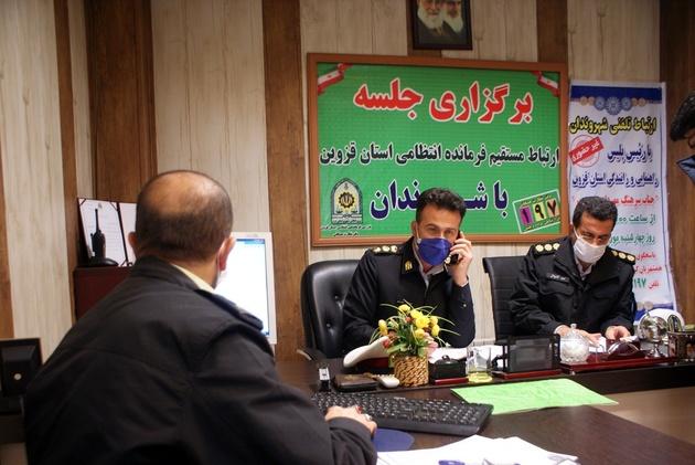 عزم پلیس راهور قزوین برای حل مشکلات شهروندان