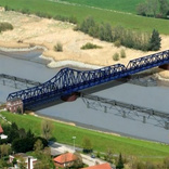 Swing bridge to replace damaged Friesen Bridge