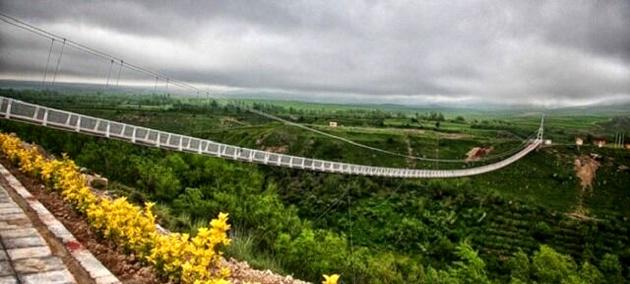 طراحی خلاقانه بلندترین پل راه آهن در دوران تحریم