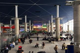 (تصاویر) فرودگاه امام پس از برقراری پروازها