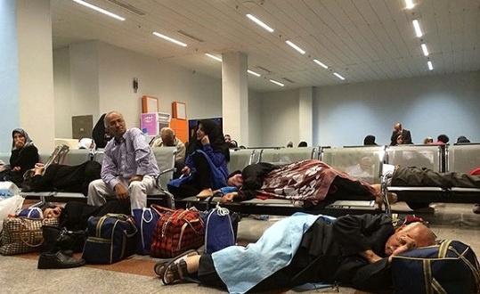 پرواز تهران-مشهد ایرتور با 8 ساعت تاخیر توسط قشم ایر انجام شد