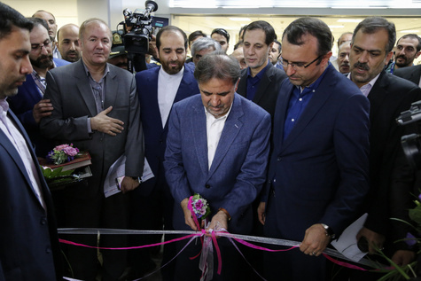 افتتاح 8 پروژه در شهر فرودگاهی امام با حضور وزیرراه