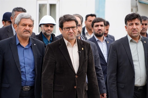 بازدید معاون وزیر راه و شهرسازی از بنادر خوزستان