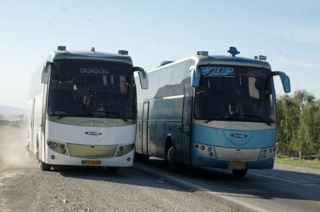 آرامش و ارائه خدمات به مسافران با حملونقل عمومی در ایلام