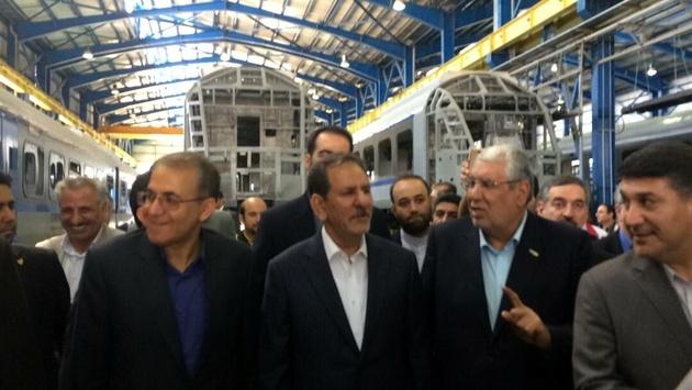 بزرگترین خط تولید و تست واگن مترو کشور در ابهر به بهرهبرداری رسید