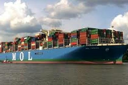سانحه برای کشتی کانتینربر ایرانی در کانال مالاکا