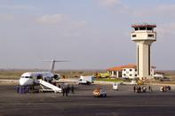 بازگشت نخستین کاروان حجاج به فرودگاه بیرجند