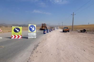 اجرای عملیات روکش آسفالت محور روستای نجمآباد