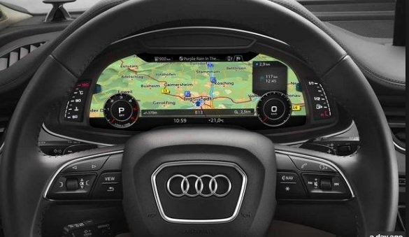 نمایشگر به جای نشانگر پشتآمپر خودروهای الکتریکی