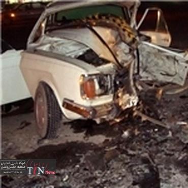 سوانح رانندگی در جاده های استان سمنان ۴ نفر فوتی در بر داشت
