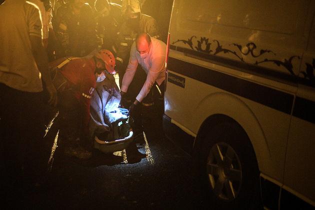 ارجاع اجساد جانباختگان حادثه انفجار کلینیک به پزشکی قانونی