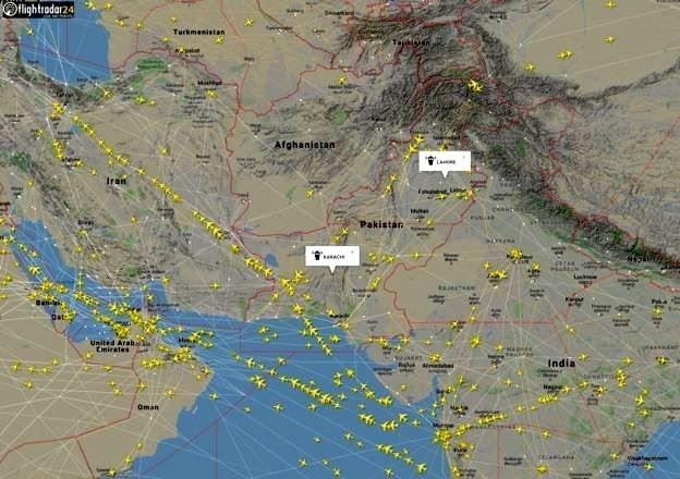 پروازهای عبوری مسیر افغانستان هم از ایران گرفته شد